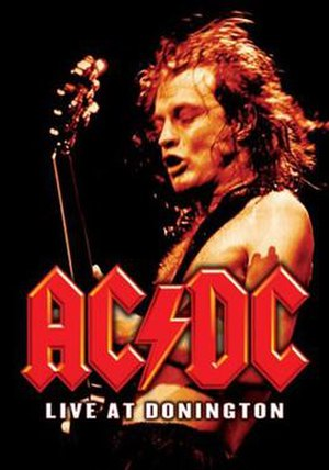 Live at Donington (AC/DC album) - Image: AC DC Live At Donington