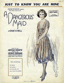 A Dangerous Maid sheet music cover.jpg