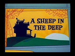 A Sheep in the Deep - Title card from A Sheep in the Deep