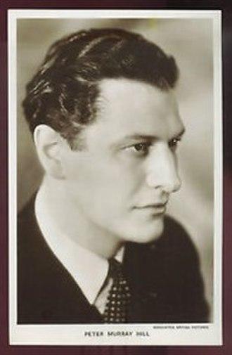 Peter Murray-Hill - 1940s postcard