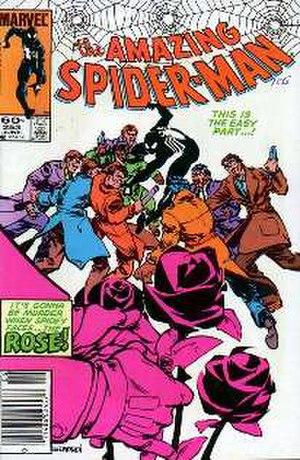 Rose (Marvel Comics) - Image: Amazingspiderman 253