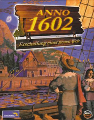 Anno 1602 - Image: Anno 1602 Creation of a New World Coverart