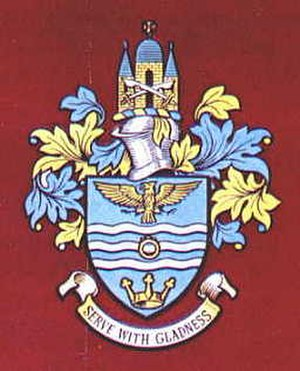 Municipal Borough of Romford - Arms of the former municipal borough