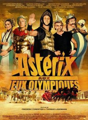 Asterix at the Olympic Games (film) - Theatrical release poster