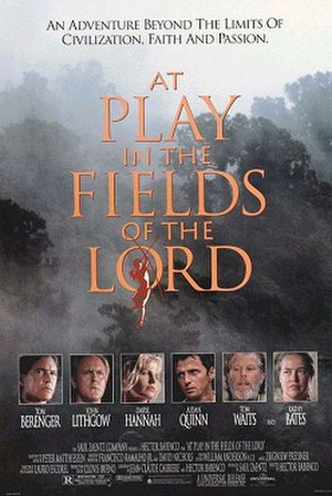 At Play in the Fields of the Lord - Theatrical release poster