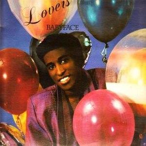Lovers (Babyface album) - Image: Babyface 1986 Original Album cover