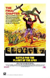 <i>Battle for the Planet of the Apes</i> 1973 film directed by J. Lee Thompson