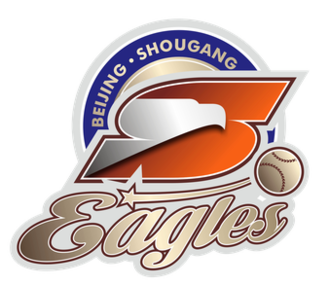 Beijing Shougang Eagles - Image: Beijing Eagles logo