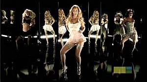 Naughty Girl (Beyoncé song) - Image: Beyonce Naughty Girl Video