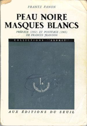 Black Skin, White Masks - Cover of the first edition