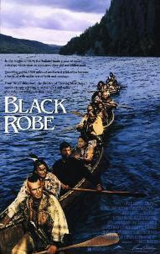 Black Robe (film) - Theatrical release poster