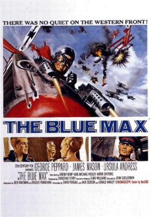 The Blue Max - original poster by Frank McCarthy
