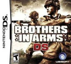 Brothers in Arms DS cover art.