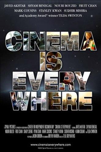 Cinema Is Everywhere - Image: CIE Poster
