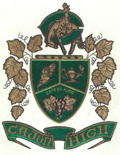 Cajon High School Senior high school in San Bernardino, California, United States