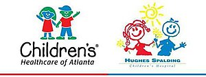 Children's Healthcare of Atlanta at Hughes Spalding logos.JPG