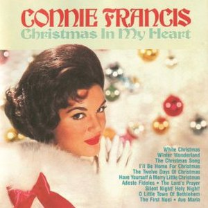 Christmas in My Heart (Connie Francis album) - Image: Christmas in My Heart (Connie Francis album)