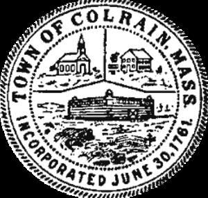 Colrain, Massachusetts - Image: Colrain MA Seal