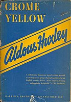 Picture of a book: Crome Yellow