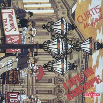 Live in Europe (Curtis Mayfield album) - Image: Curtis Europe