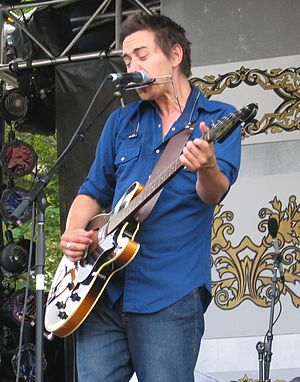 Danny Michel performing at the 2006 Ottawa Blu...