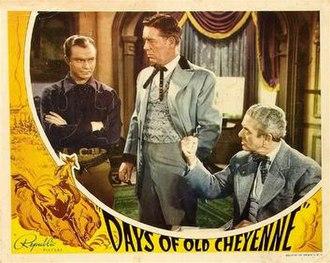 Days of Old Cheyenne - Image: Days of Old Cheyenne