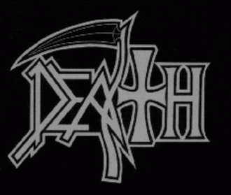 Death (metal band) - The original Death logo was created by Chuck Schuldiner. This is the last logo used by the band (The Sound of Perseverance)