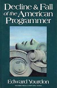 Decline and fall of the american programmer 1992 bookcover.jpg