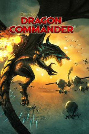 Divinity: Dragon Commander - Image: Divinity Dragon Commander cover