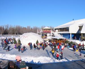 Winterlude Skating at Dows Lage