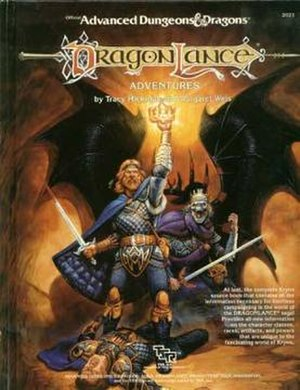 Dragonlance - Dragonlance Adventures, the first Dragonlance campaign setting sourcebook