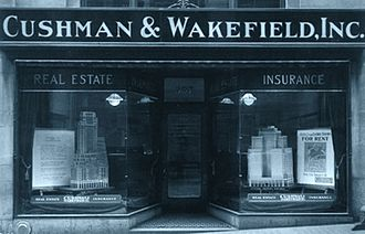 Cushman & Wakefield - Image: Early 20Century Cushman Office
