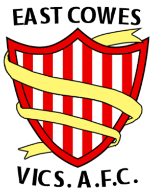 East Cowes Victoria Athletic A.F.C. - Image: East Cowes Victoria Athletic A.F.C. logo