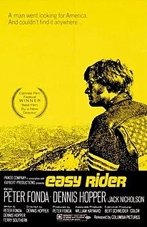 <i>Easy Rider</i> 1969 film by Dennis Hopper