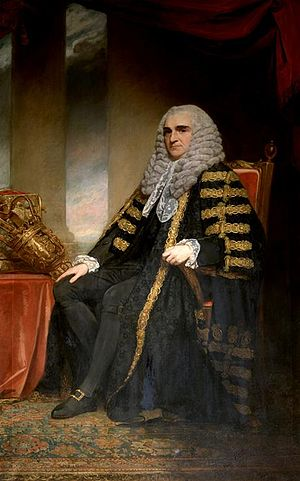 Edward Thurlow, 1st Baron Thurlow - Lord Chancellor Thurlow