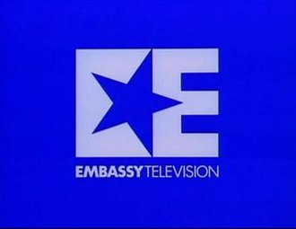 Embassy Pictures - Embassy Television logo, used from 1982–1984