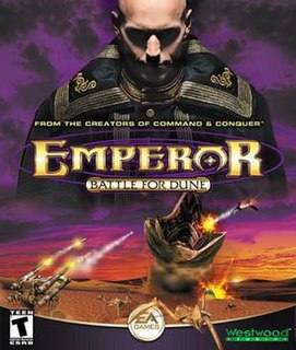 <i>Emperor: Battle for Dune</i> video game