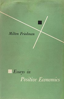 <i>Essays in Positive Economics</i> book by Milton Friedman