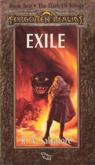 Exile (Forgotten Realms novel) - Cover of the first edition
