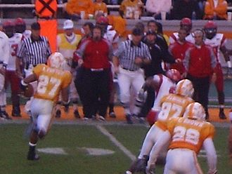 2008 Tennessee Volunteers football team - Arian Foster leads a talented group of returning tailbacks.