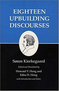 <i>Four Upbuilding Discourses, 1843</i> book by Søren Kierkegaard