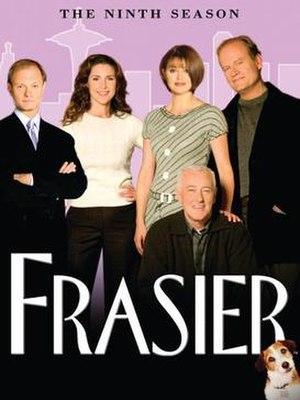 Frasier (season 9) - DVD cover