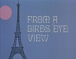 Series titles with a cartoon image of the Eiffel Tower