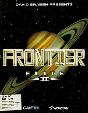 Cover art for Frontier: Elite 2