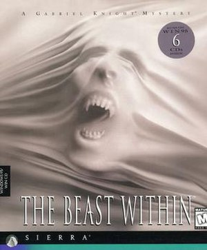 The Beast Within: A Gabriel Knight Mystery - Image: Gabriel Knight The Beast Within