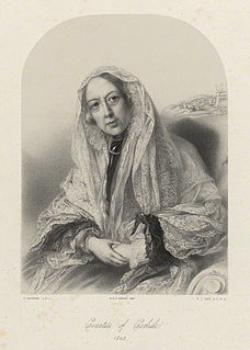 Georgiana Howard, Countess of Carlisle British noblewoman