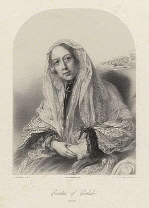 Georgiana Howard, Countess of Carlisle - Lady Georgiana Howard, Countess of Carlisle, 1853.