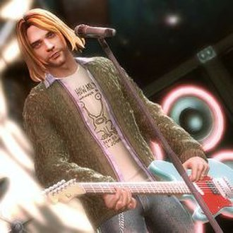 Guitar Hero 5 - After three years of negotiations, Kurt Cobain is a playable character in Guitar Hero 5.