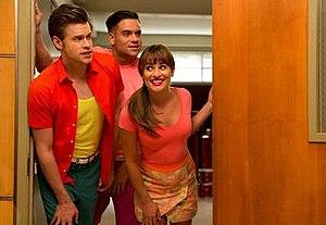 "Homecoming (Glee) - Sam, Puck, and Rachel perform A-ha's ""Take On Me"""