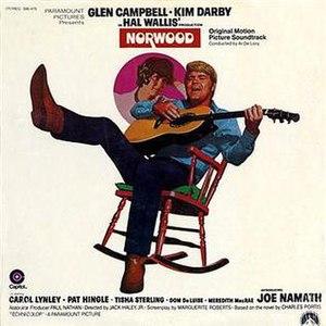 Norwood (soundtrack) - Image: Glen Campbell Norwood album cover
